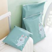 Anshinto 3 Pcs Travel Portable Storage Bags Cartoon Pattern Practical Waterproof Storage