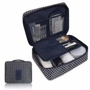 Anshinto Pockettrip Clear Cosmetic Makeup Bag Toiletry Travel Kit Organiser