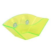 Kitchen Sink Soap Sponge Shelf Holders Cloth Rack Suction Cup Drain Storage Tool - Green Amesii