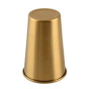 Homyl Single Wall Stainless Steel Cups, Pint Glasses 6x8.8x12.5 cm