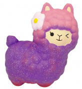 LaliLaco Squishy Alpaca Squeeze Slow Rising Toy (Height 15.5cm) Stress Relief Soft Toy