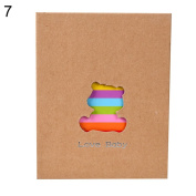 100 Pages Animal Colourful Family Baby Photo Storage Holder Insert Album Decor