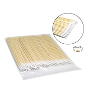 Pretty See Disposable Cotton Swabs Pointed Cotton Bud Set Cotton Applicator with Precise Tips, 1000 Pcs