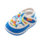huichang Infant Baby Boys Girls Cartoon Anti-Slip Shoes Soft Sole Squeaky Cute Sneakers