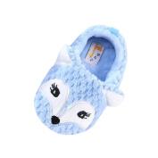 huichang Baby Girl Boy Soft Cartoon Fox Design Toddler Warming Crib Shoes Household Shoes