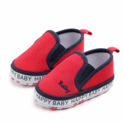 Y56 Baby Boy/Girl Soft Shoes Sneaker, Toddler Kids Children Baby Infants Girl Boy Fashion Autumn Winter Solid Embroidery Anti-Slip Soft Casual Lazy Shoes Keep Warm Sneakers,3-12M