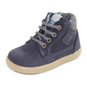 BALDUCCI Boots With Laces and Zip First Steps Made In Italy CITA028B Dark Blue