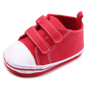 Rapidly Baby Shoes, Double Row Of Hook and loop Baby Toddler Shoes/Rubber Bottom Infant First Walking Shoes, Boys & Girls