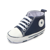 Rapidly Baby Shoes, Former Lace Canvas Toddler Shoes/Infant First Walking Shoes,Boys & Girls