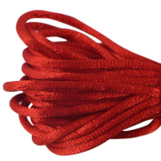 EDGEAM Jewellery Cord Satin Silky Nylon Decoration Rope 2.3mm for DIY Chinese Knot Crafts & Jewellery Making