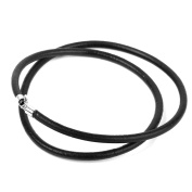 Nalmatoionme Artificial Leather Cord Necklace