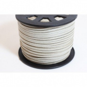 Grey Faux Suede Cord 3 mm Cord – per metre