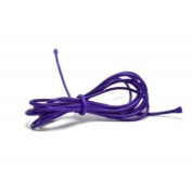 Purple 1 mm Waxed Polyester Cord 1 m