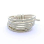 Faux Suede Light Sand Faux Leather Faux Suede Cord – 3 mm per metre