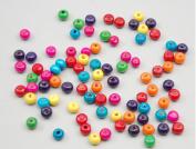 EWFSEF DIY Jewellery Accessories Mini Round Wood Bead