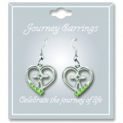 Cathedral Art JE108 August Peridot Birthstone Earrings