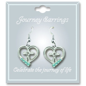 Cathedral Art JE103 March Aquamarine Birthstone Earrings