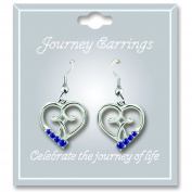 Cathedral Art JE109 September Sapphire Birthstone Earrings
