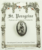 Cathedral Art TS35P St. Peregrine Patron of Cancer Patients Pin