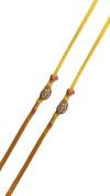PMK Set of Two, Om Design, Rakhi thread, Raksha bandhan Gift for your Brother, Yellow Colour Thread.Colour Vary and Multi Design