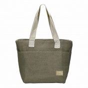 huichang Canvas Portable Food Bags Lunch Bags Convenient Lunch Packet