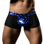 Jaminy Sexy Men's Thongs G-string Underwear Leather Jockstrap Trunks