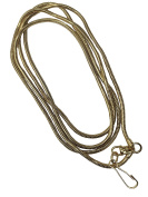 Loupe Chain Snake Style Gold 60cm