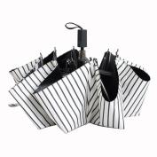 Truewon White Stripes Ultralight Sun Umbrella