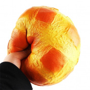 Squishy Toys Slow Rising Toys, Sonnena Colossal Pineapple Bun Slow Rising Jumbo Squishy Toys Stress Relief Toys Gifts for Kids Adults Birthday Party Favours Squeeze Decompression Toys Easter Day Gift