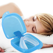MEYLEE 2 PCS Health Sleep Aid - Anti Snoring Aids Snore Reducing Mouth Tray Device
