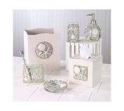 Avanti Linens 13675FMUL Seaglass Waste Basket, Medium, Multicolor