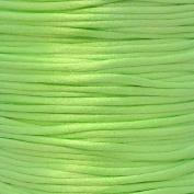 Rattail 2mm Rattail Satin Cord - Neon Green - 5m