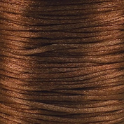 Rattail 2mm Rattail Satin Cord - Brown - 5m