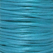 Rattail 2mm Rattail Satin Cord - Sea Blue - 5m