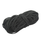 18M Black Flat Suede Leather Cord Rope String 2mm for Jewellery Making Craft DIY Necklace Bracelet