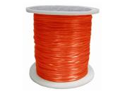 Elastic 0.8 mm Red Orange