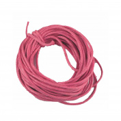 5 Metres Waxed Cotton Cord 2 mm Pink – Craft Jewellery Creation
