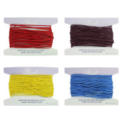 1mm Brights Waxed Cord Mix