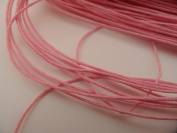 """4 Metres of Pink Cotton Wax Wire Diameter 1 mm â . """" Creation Pearl"""
