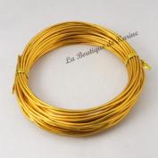 "6 Metres Aluminium Wire Metal Gold Diameter 1.5 mm â . "" Creation Pearl"