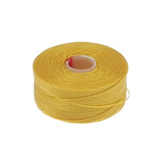 Beadsmith Superlon (S-Lon) Tex45 Size D - Golden Yellow - 70m