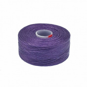 Beadsmith Superlon (S-Lon) Tex45 Size D - Purple - 70m