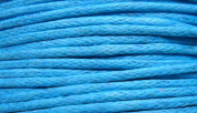 30 Metres of 1mm Wax Cotton Cord in Blue for jewellery making / arts and crafts