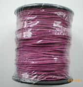 80m (1 Reel) of 1mm Wax Cotton Cord in Rasberry