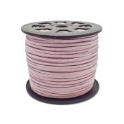3mm Flat Faux Suede Cord - Violet - 5m