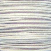 k2-accessories 30M 1mm Waxed Cotton Thong Cord - White - C0605 / 3 Bundles