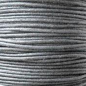 k2-accessories 30M 1mm Waxed Cotton Thong Cord - Grey - C0604 / 3 Bundles