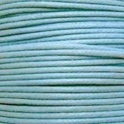 k2-accessories 30M 1mm Waxed Cotton Thong Cord - Pale Blue - C0602 / 3 Bundles