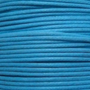 k2-accessories 30M 1mm Waxed Cotton Thong Cord - Turquoise - C0601 / 3 Bundles