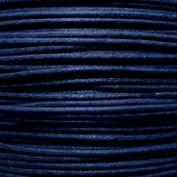 k2-accessories 30M 1mm Waxed Cotton Thong Cord - Dark Blue - C0600 / 3 Bundles